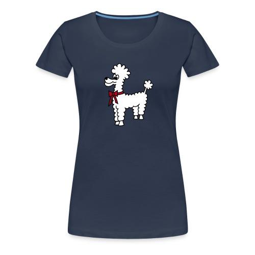 Pudelschaf - Frauen Premium T-Shirt