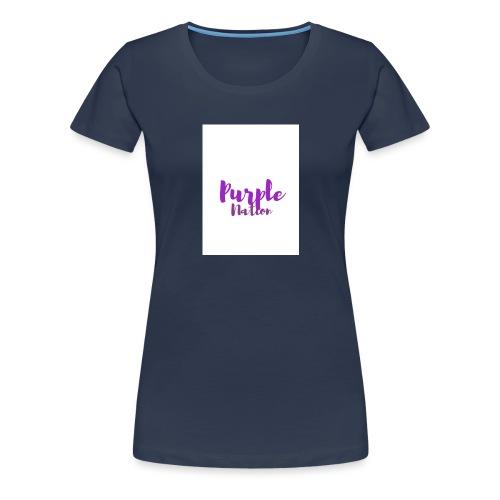 Purple Nation - Premium T-skjorte for kvinner