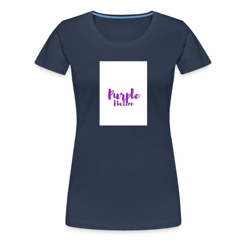 Purple Nation - Premium T-skjorte for kvinner