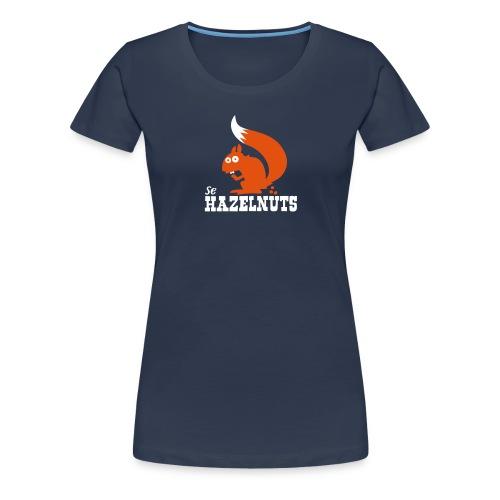 hazelnutssquirrel - Frauen Premium T-Shirt