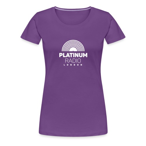 Platinum Radio London - Women's Premium T-Shirt