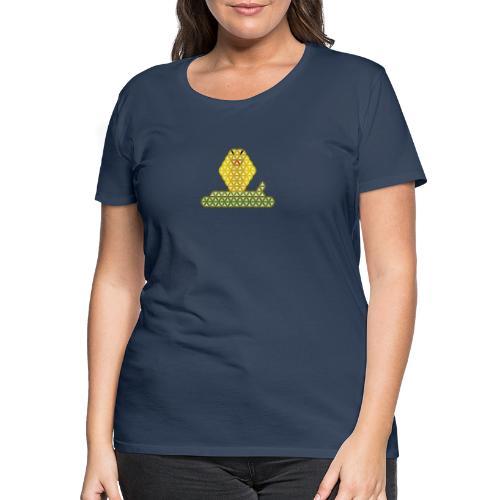 The Snake of Life - Sacred Animals, C01Y/G - Women's Premium T-Shirt