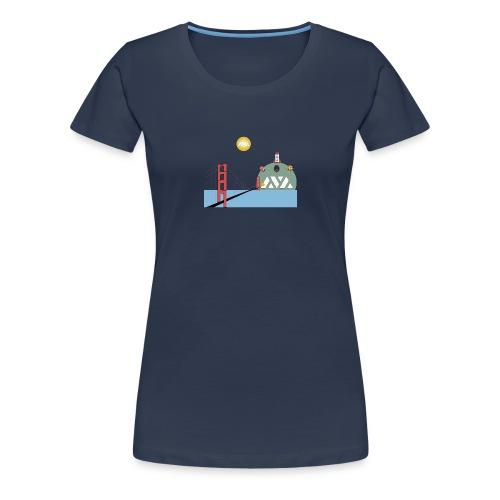 Avalanche Good Bridging to walhalla - Vrouwen Premium T-shirt
