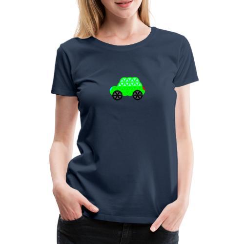 The Car Of Life - 01, Sacred Shapes, L/Green. - Women's Premium T-Shirt