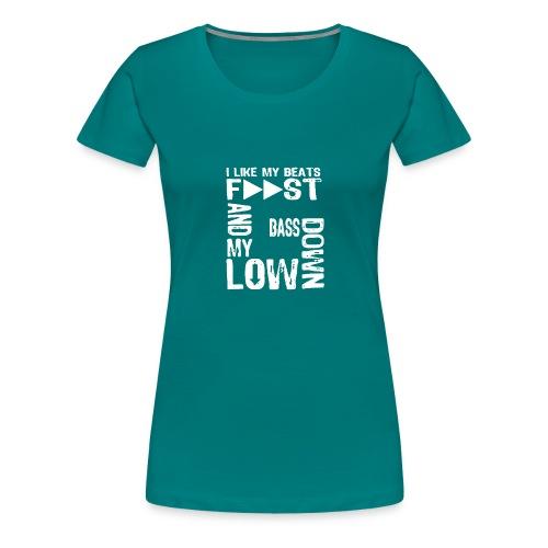 bass down low gfm - Women's Premium T-Shirt