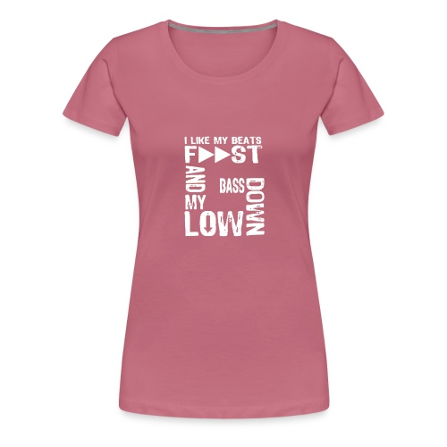 bass down low gfm - Women's Premium T-Shirt