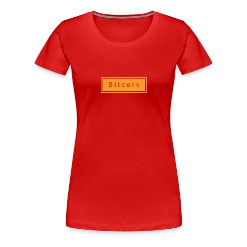 bitcoin basic - Vrouwen Premium T-shirt