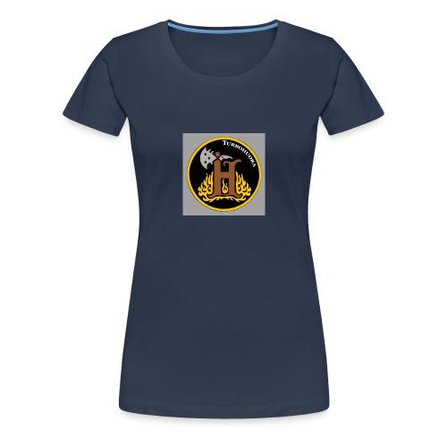THbutton 32Srgb400 - Naisten premium t-paita