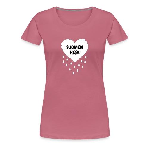 Suomen kesä - Naisten premium t-paita