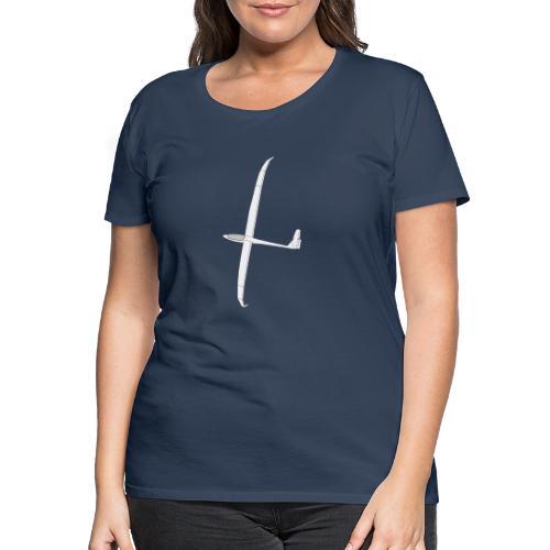Ventus (grayscale) - Women's Premium T-Shirt