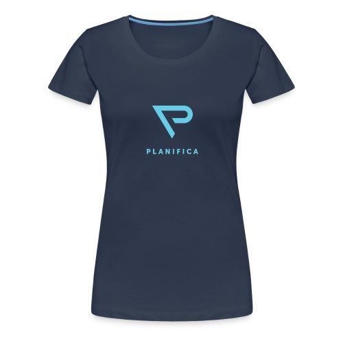 Camiseta Planifica Negra - Camiseta premium mujer