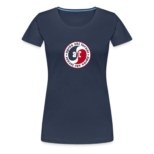 Apres Ski Leraar (rood) - Vrouwen Premium T-shirt