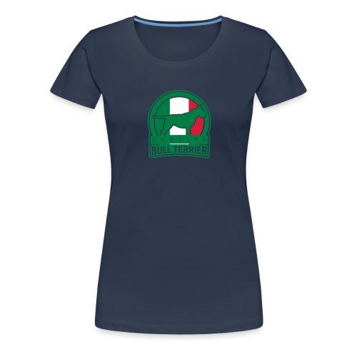 BULL TERRIER Italy ITALIA - Frauen Premium T-Shirt