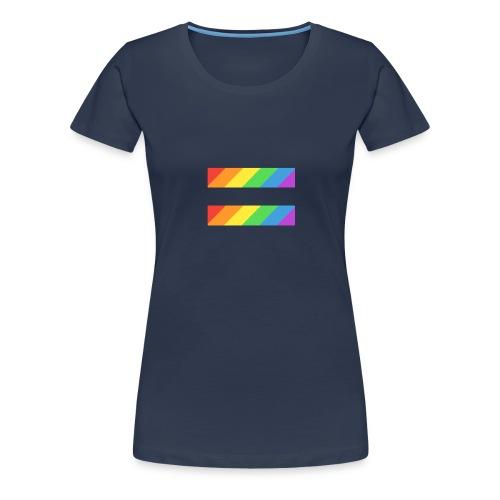 LGBTQ Equality Pride Logo - Women's Premium T-Shirt