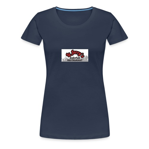 logo jerry s dos 1 - T-shirt Premium Femme