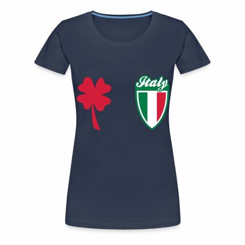 Scudo sportivo d'Italia - Maglietta Premium da donna