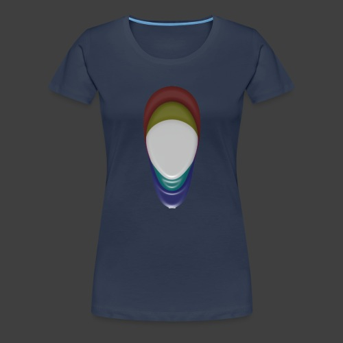 The veil - Women's Premium T-Shirt