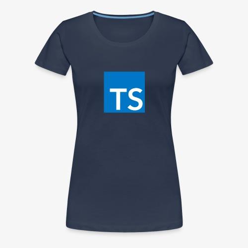 TypeScript Logo - Women's Premium T-Shirt
