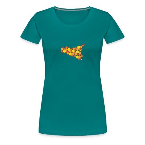 logo sicilia piccolo - Maglietta Premium da donna