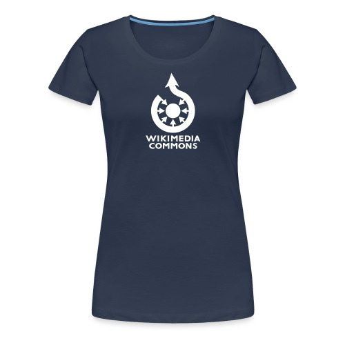 Commons texte vectoriel - T-shirt Premium Femme