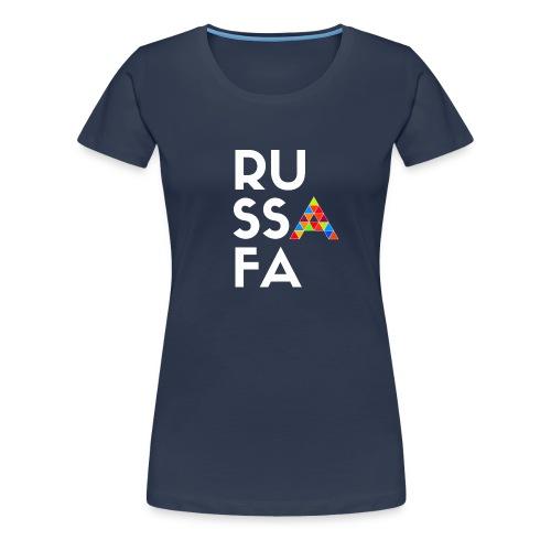 RU SSA FA - Camiseta premium mujer