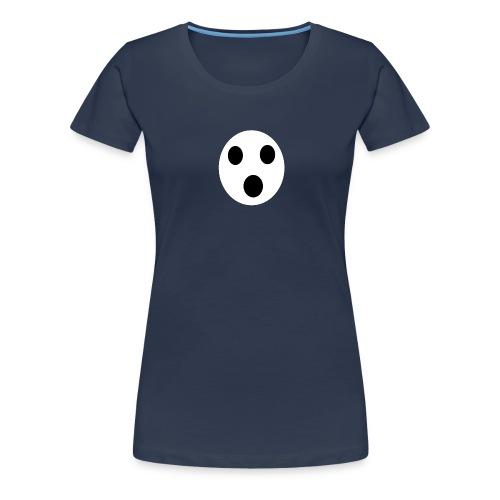 Sort Uni T-shirt - Dame premium T-shirt
