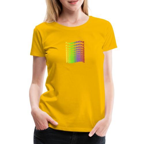 Freerunning Rainbow - Dame premium T-shirt