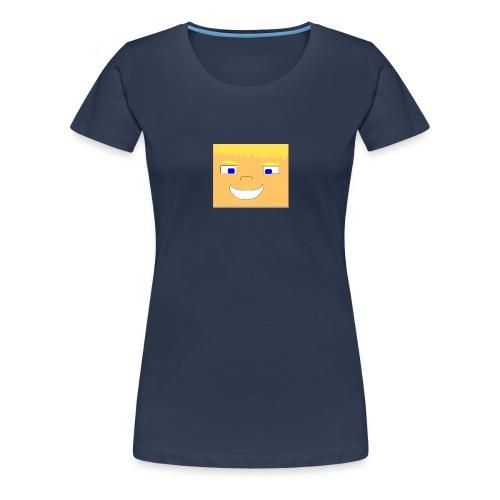 WolfHD RealLife Face in Minecarft - Premium T-skjorte for kvinner