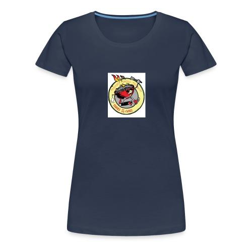 grillfestivalen - Premium T-skjorte for kvinner