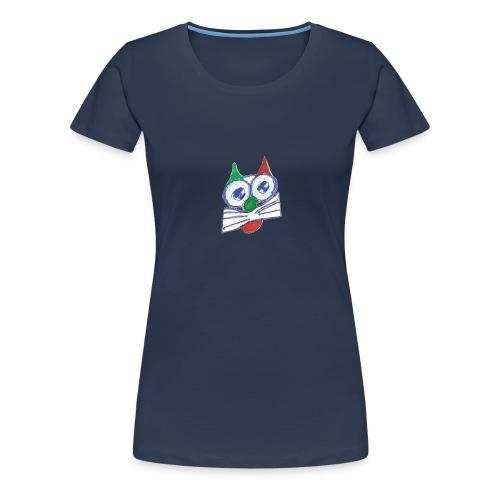 miao_traspa-png - Maglietta Premium da donna