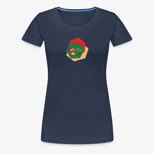 Christmas Owl - T-shirt Premium Femme