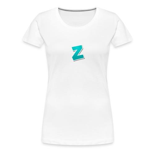 Z3RVO Logo! - Women's Premium T-Shirt