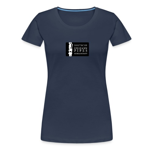 DUPG Logo schwarz weiß - Frauen Premium T-Shirt