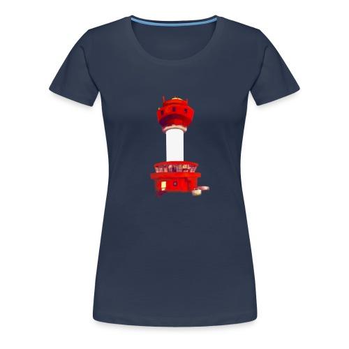 Leuchtturm Kiel - Frauen Premium T-Shirt