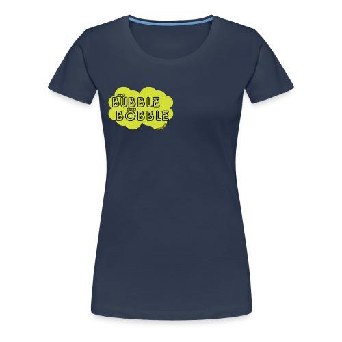 BubbleBobble Gellow - Frauen Premium T-Shirt