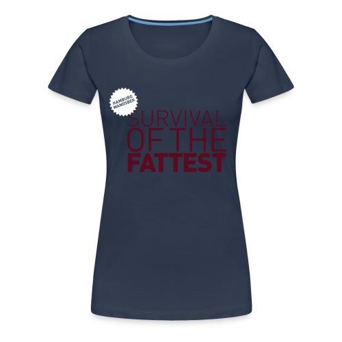 Übergrößenshirt Wandsbek - Frauen Premium T-Shirt