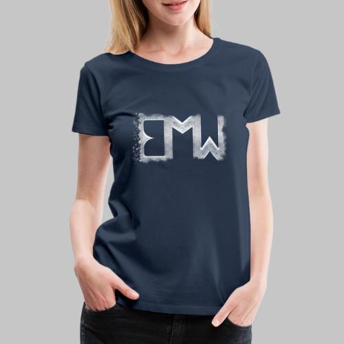 EMW Logo White Cut - Women's Premium T-Shirt