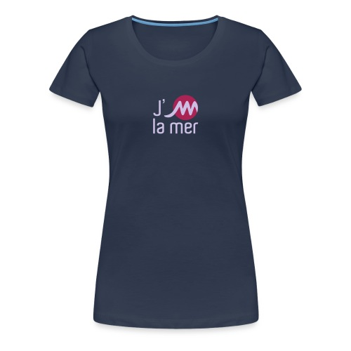 jMmerblancjaune - T-shirt Premium Femme