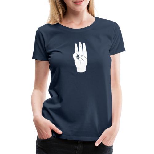 pfadfindergruss - Frauen Premium T-Shirt