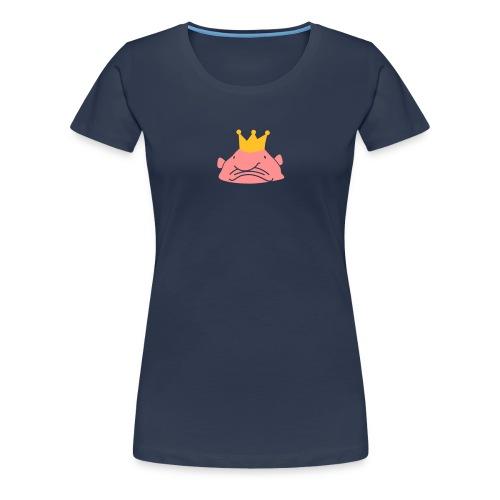Koning Blobvis - Vrouwen Premium T-shirt