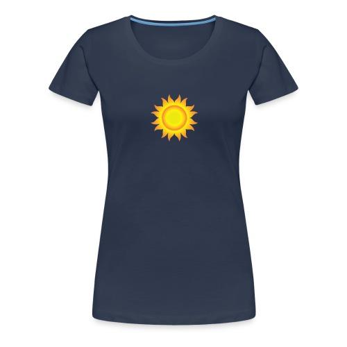 sol T-shirt - Dame premium T-shirt