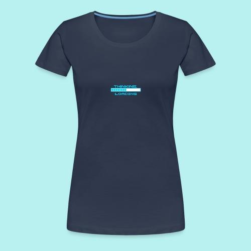 ladebalken juhu - Frauen Premium T-Shirt