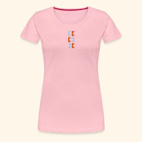 Hoa original logo v2 - Women's Premium T-Shirt