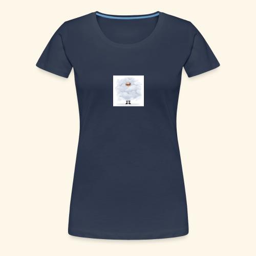 Femme dans les nuages - T-shirt Premium Femme
