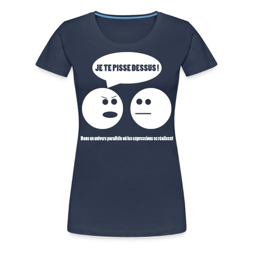 tshirt2 png - T-shirt Premium Femme
