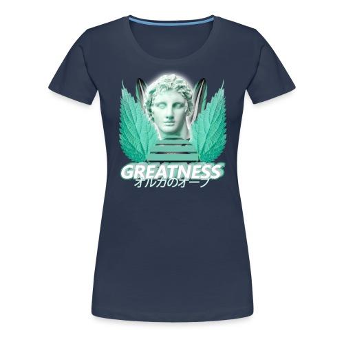 Greatness - Women's Premium T-Shirt