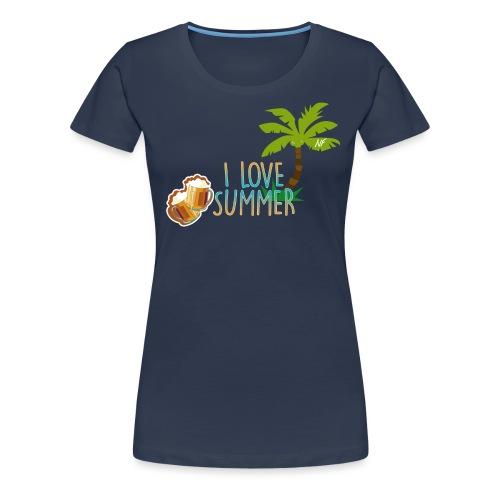 NF - Summer - T-shirt Premium Femme