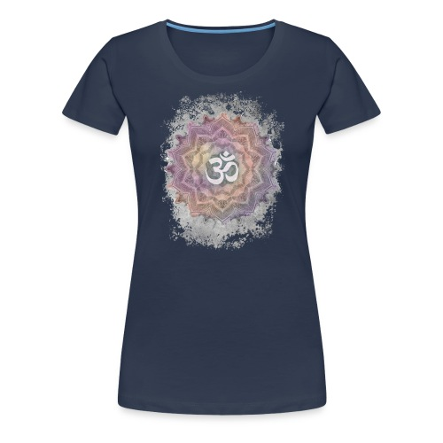 Colorful Mandala Aum - Women's Premium T-Shirt