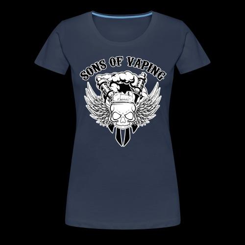 Sons Of Vaping - Maglietta Premium da donna