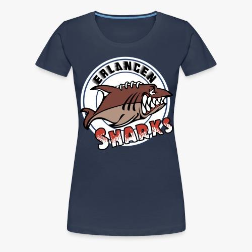 Erlangen Sharks Logo - Frauen Premium T-Shirt